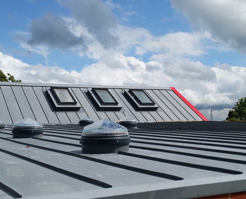 Euroclad Vieo Roofing system