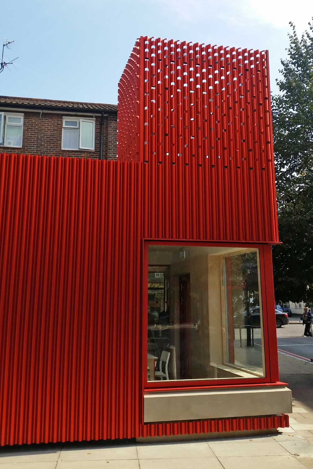 East St Library cladding system